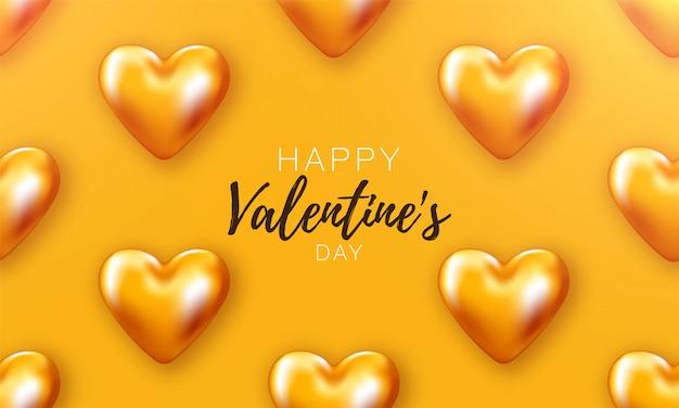Love heart valentines. romantische dag backround poster naar promotie. speciale sjabloon om van te houden. romantische banner.