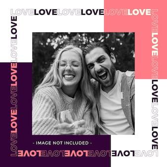Love post voor valentijnsdag