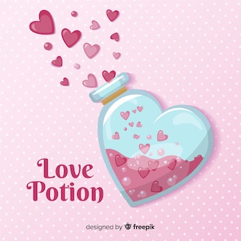 Love potion achtergrond