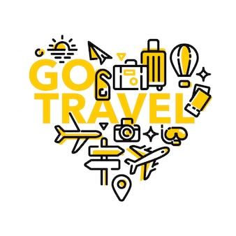 Love traveling go travel