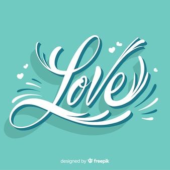 Love valentijnsdag achtergrond