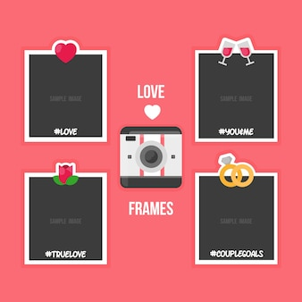Lovely polaroid frames