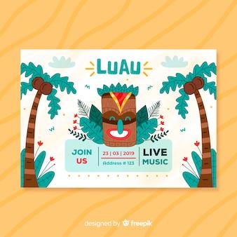 Luau-feestvlieger