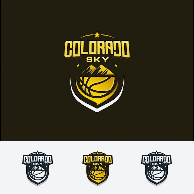 Lucht basketbal logo
