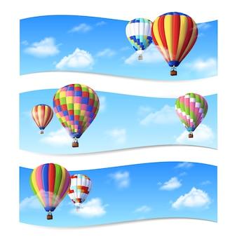 Luchtballon-banners