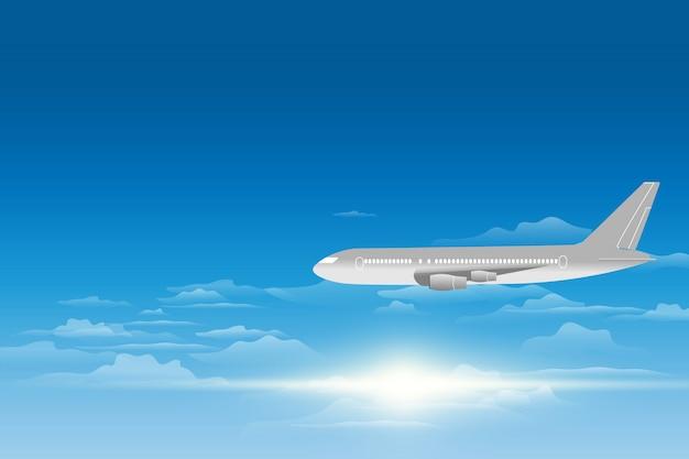 Luchtfoto van een vliegtuig