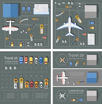 Luchthaven passagiersterminal