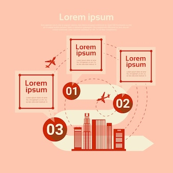 Luchthaven vliegtuig transport analyse infographic
