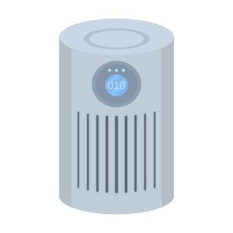 Luchtreiniger filtratie van virussen en vuile lucht