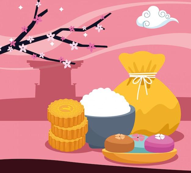 Lucky bag en mooncakes