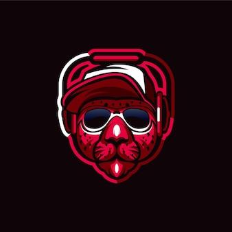 Luipaard logo ontwerp