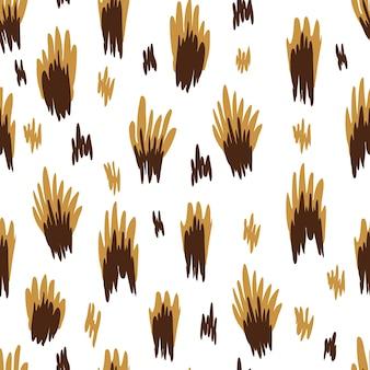 Luipaardpatroon, dierenpatroon, print van wilde dieren, vectorillustratie
