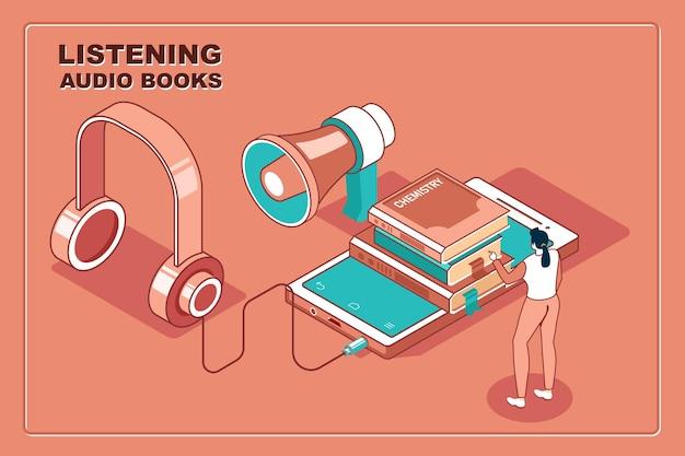 Luisteren naar audioboeken