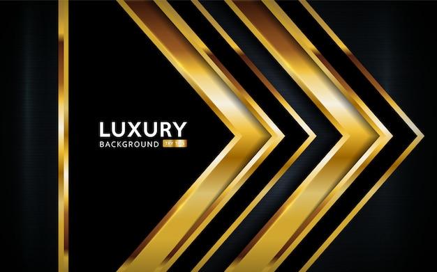 Luxe abstracte achtergrond met gouden lijnen