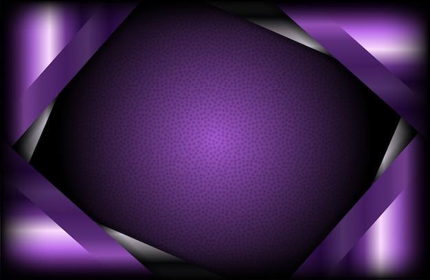 Luxe abstracte donkere achtergrond met paarse vorm