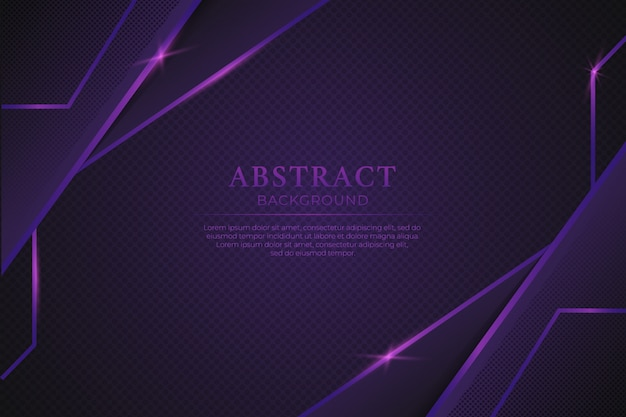 Luxe abstracte paarse achtergrond met glanzende paarse lijn