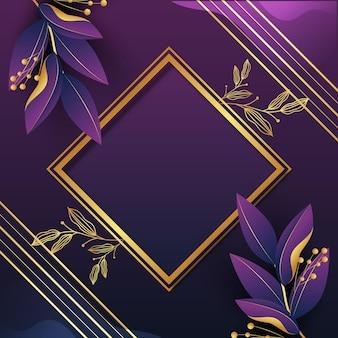 Luxe achtergrond met gouden details