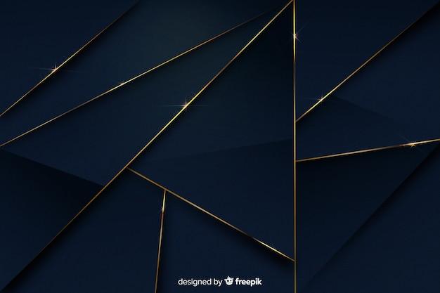 Luxe achtergrond met verschillende vormen