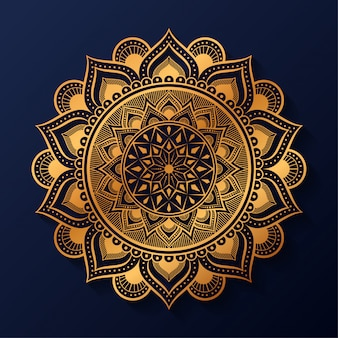 Luxe arabesque mandala