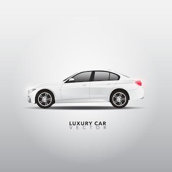 Luxe auto-ontwerp