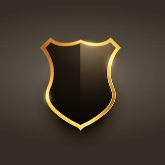 Luxe badge label embleem ontwerp
