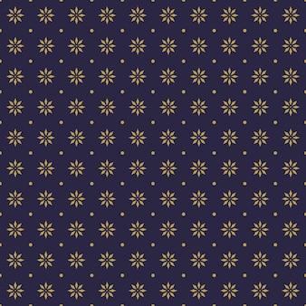 Luxe batik naadloze patroon achtergrondbehang in geometrische mandala vormstijl