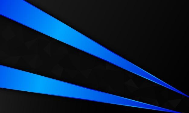 Luxe blauw metaal en zwart op mozaïekachtergrond. het beste ontwerp voor uw bedrijfsbanner.