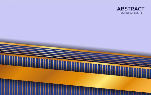 Luxe blauwe en gouden achtergrond