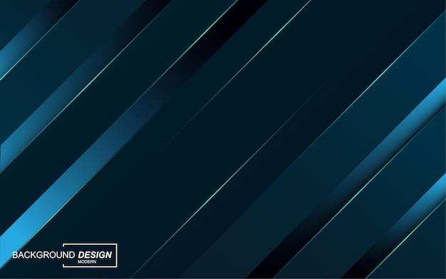 Luxe blauwe overlappende lagen achtergrond