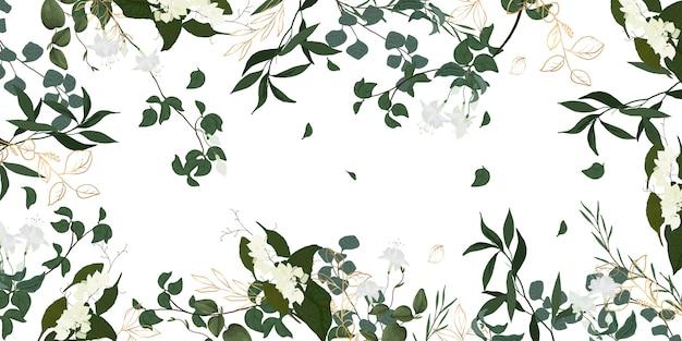 Luxe bloemenbehangontwerp