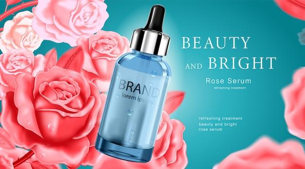 Luxe cosmetische fles huidverzorgingscrème