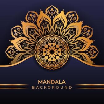 Luxe creatieve islamitische mandala-achtergrond