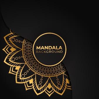Luxe decoratieve mandala achtergrond