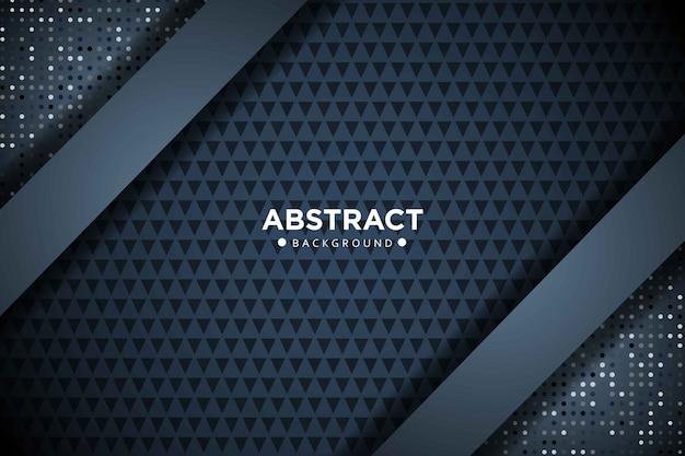 Luxe donkere achtergrond met glitter en overlappende laag. abstracte moderne achtergrond.
