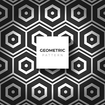 Luxe geometrisch patroon, decoratief behang