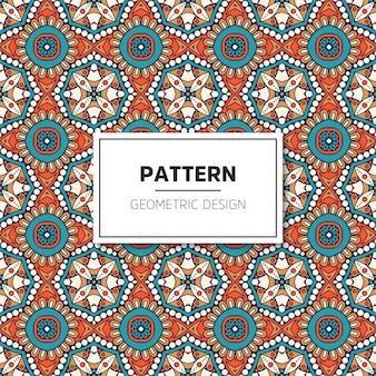 Luxe geometrisch patroonontwerp
