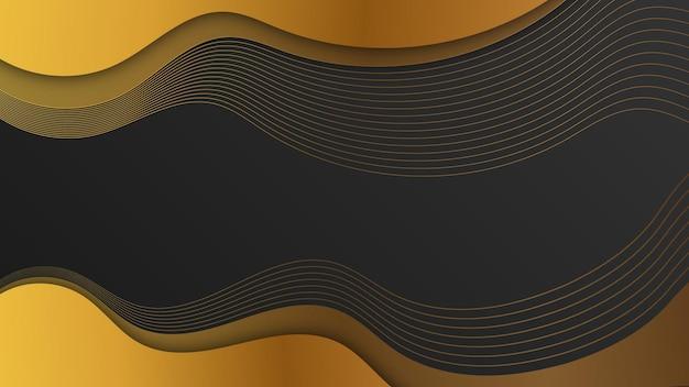 Luxe gouden abstracte achtergrond