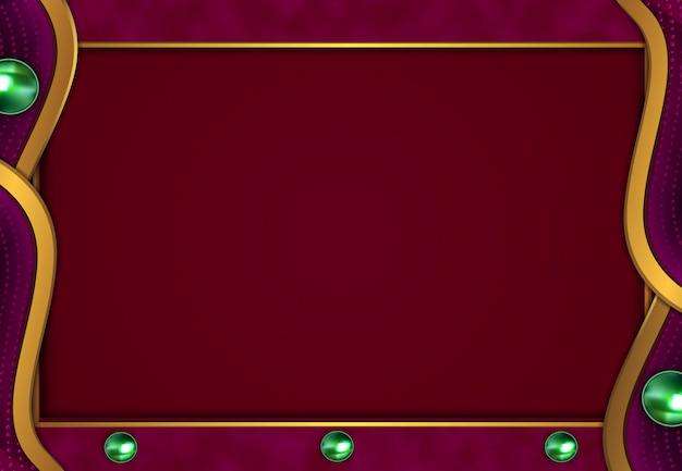 Luxe gouden achtergrond met rode donkere textuur