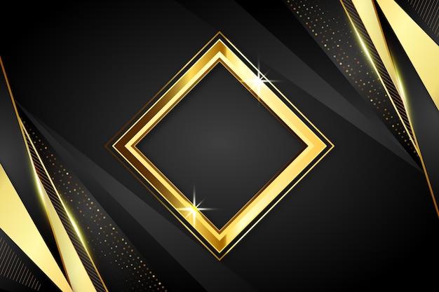Luxe gouden gedetailleerde achtergrond