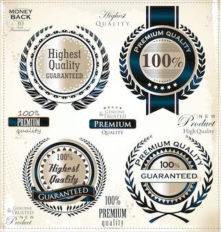 Luxe gouden labels