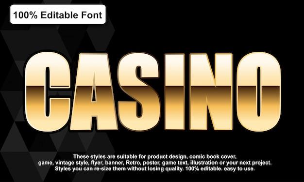 Luxe gouden lettertype-effect