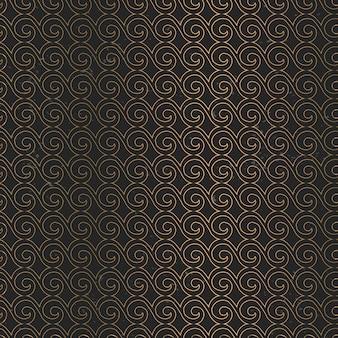 Luxe gouden mandala patroon