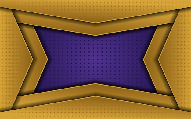 Luxe gouden paarse achtergrond