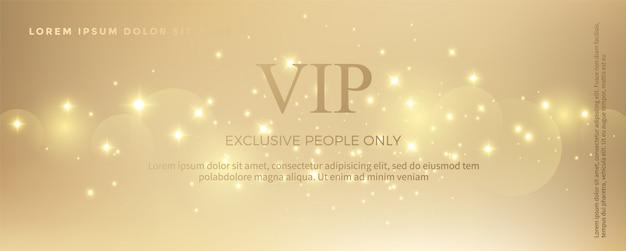 Luxe gouden uitnodigingskaartsjabloon