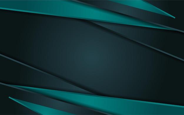 Luxe gradiënt donkergroene achtergrond