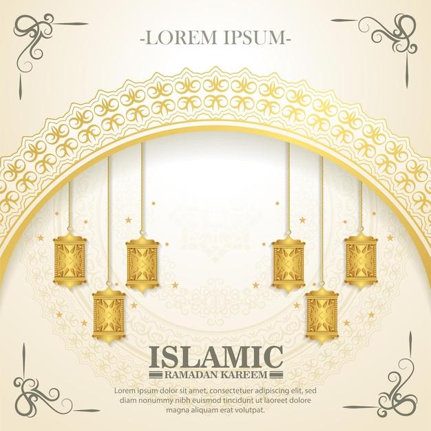 Luxe islamitische achtergrond