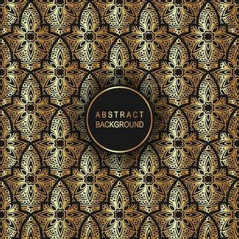 Luxe islamitische patroon achtergrond