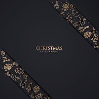 Luxe kerst backgorund