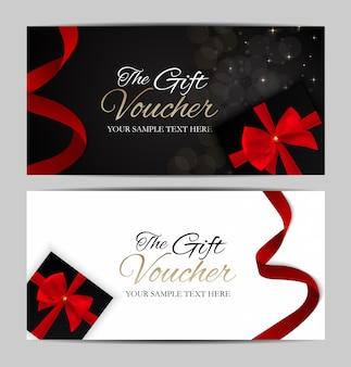 Luxe leden, cadeaukaartsjabloon voor uw bedrijf
