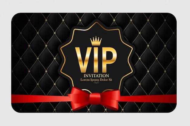 Luxe leden, gift card vip uitnodiging